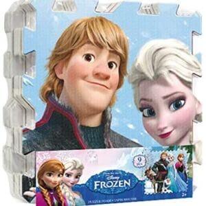 Alfombra puzzle Frozen de 9 piezas