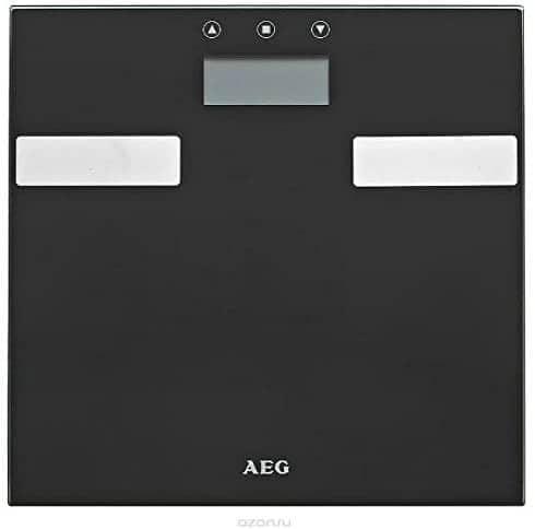 Bascula de baño AEG de análisis corporal