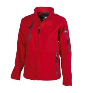 chaqueta newport roja mujer