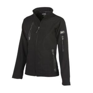 chaqueta newport negro para mujer
