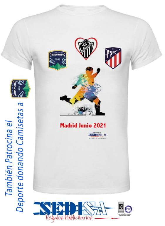 Camiseta Zona Norte Atlético Puertollano