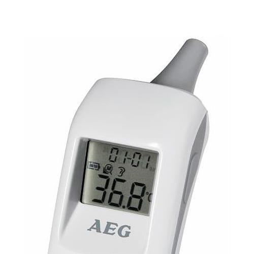 pantalla del termómetro