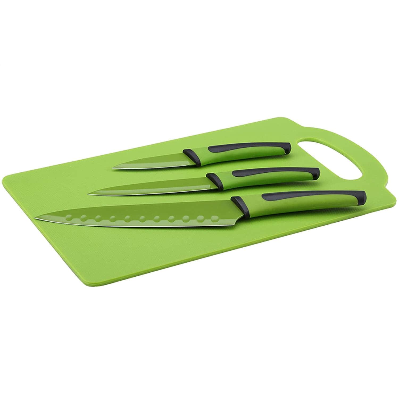 Cuchillos y tabla Renberg