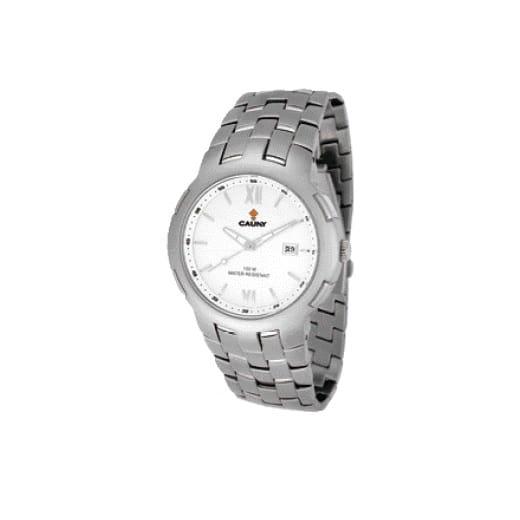 reloj plateado señora