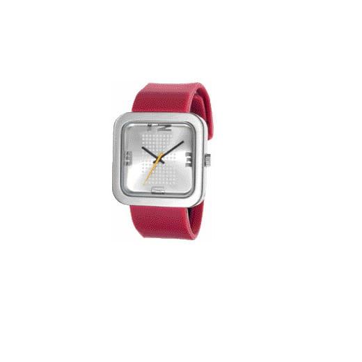 reloj rojo grande