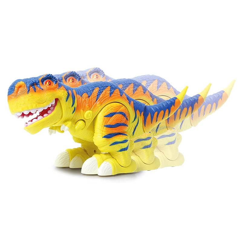 Dinosaurio Bruni en movimiento
