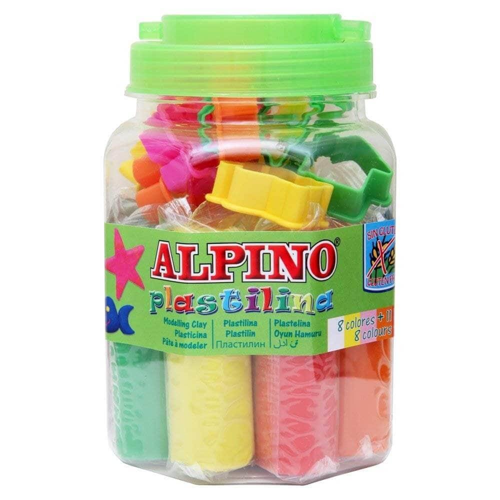Kit de plastilina Alpino