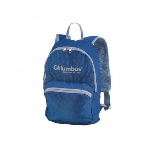 mochila azul columbus
