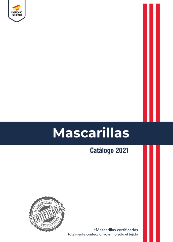 Catálogo de Diseños Personalizables de Mascarillas